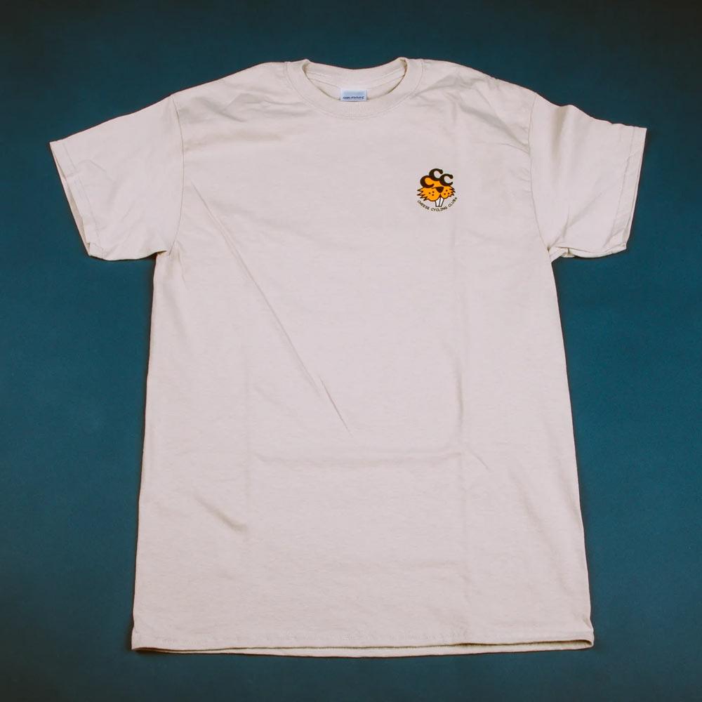 치즈사이클링 샌드 티셔츠