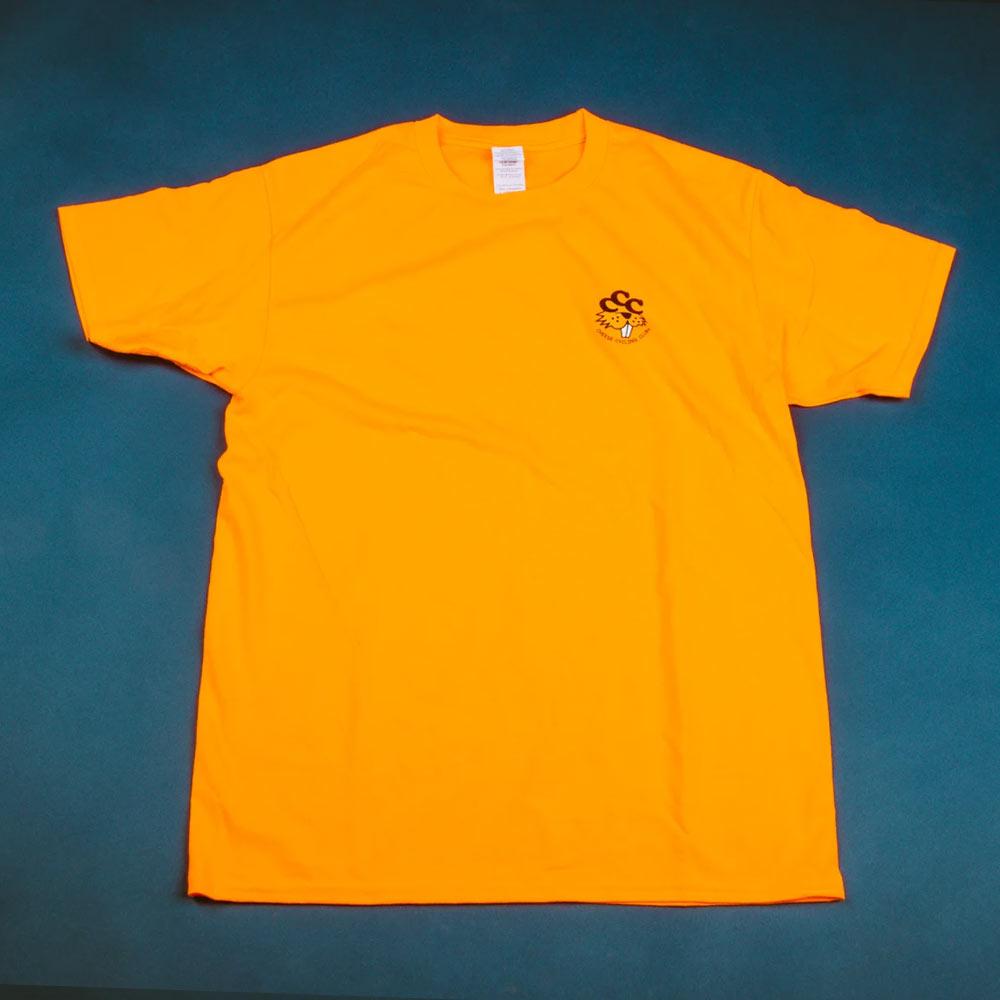 치즈사이클링 오렌지 티셔츠